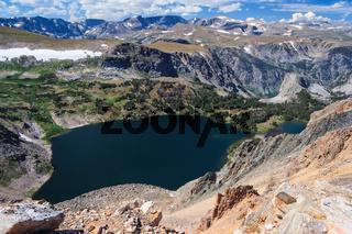 View of Montana Mountains USA