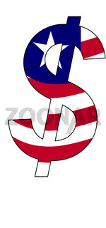 dollar - flag of liberia