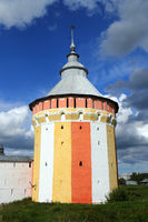 Tower of Spaso-Prilutsky monastery in Vologda