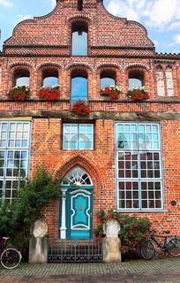 Giebelhaeuser von Lueneburg-XI-