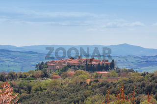 St Angelo in Colle Landschaft