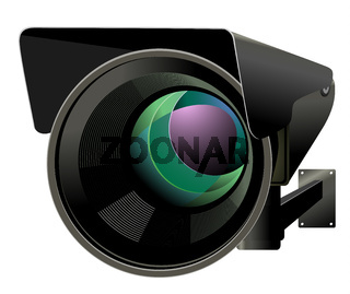 Camera of the video observation