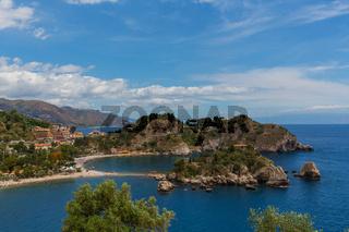 Isola Bella Taormina Panorama