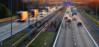 Controlled-access highway in Poznan
