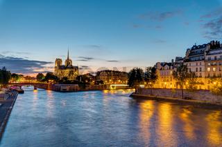 Notre Dame und die Ile de la Cite in Paris