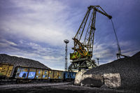 Port Crane in Coal Port