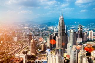 Kuala Lumpur Skyline - Malaysia