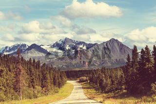 Road on Alaska