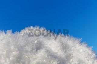 Eiskristalle Himmel