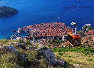 Dubrovnik Seilbahn - Dubrovnik ropeway 02
