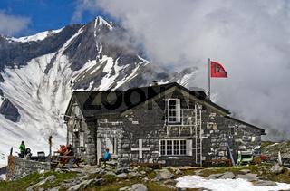 Berghütte Susanfe, Wallis, Schweiz
