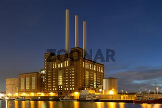 Svanemolle Power Plant in Copenhagen, Denmark