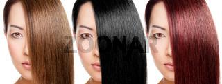 Hair color variation