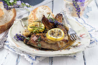 Lavender Chicken