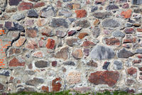 old wall of stones background
