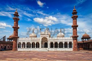 Moti Masjid Pearl Mosque, Bhopal, India