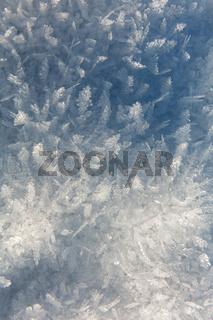 Eiskristalle Landschaft