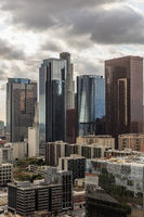 Skyscrapers in financial district of Los Angeles
