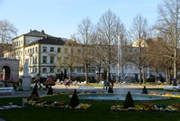 Springbrunnen in Bad Kissingen