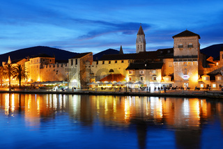 Old town of Trogir in Dalmatia