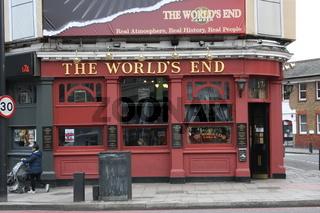 London, Pub The World´s End