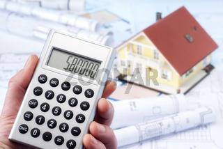 Kalkulation der Baukosten