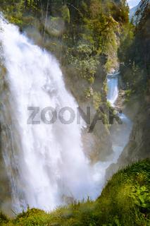 Wasserfall im Raintal