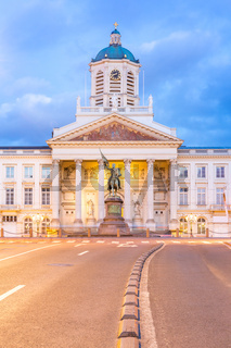 Brussels Royal Square Belgium