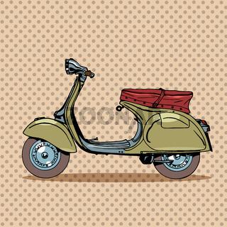 Vintage scooter retro transport