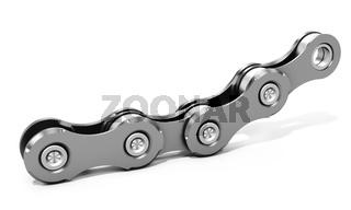 3d detailed bike chain links