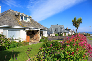 Sunny Houses in Cornwall,England