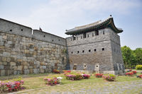 North-East GunTower of Suwon Hwaseong, called Bukdongporu
