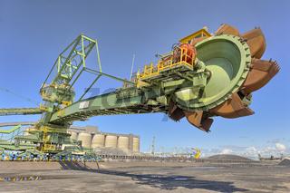 Heavy coal digging machine