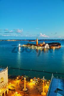 Basilica Di San Giogio Maggiore in Venice