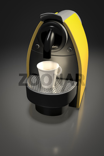modern coffee machine