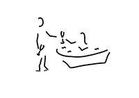 paar mit sekt und badewanne