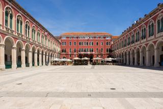Platz der Republik in Split, Kroatien