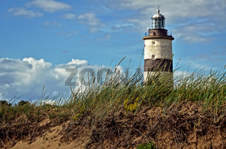 Leuchtturm an der schwedischen Küste