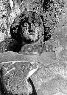 Der Roland von Quedlinburg im Harz, Aufnahme von 1985