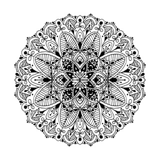 Mandala, circle ornamental pattern for your design