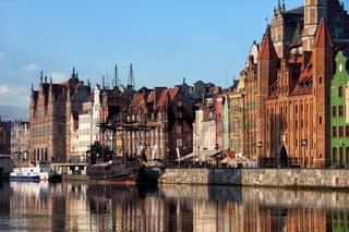 City of Gdansk Old Town Skyline