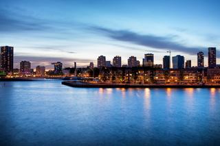 Rotterdam at Dusk