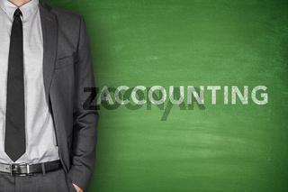 Accounting on blackboard