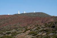 Teide Observatorium auf dem Berg Izaña, kanarische Insel Teneriffa