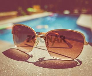 Retro Vintage Pool Sunglasses