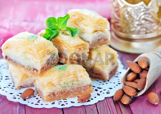 Baklava, Turkish dessert