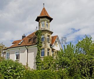 Villa mit Türmchen  Konstanz