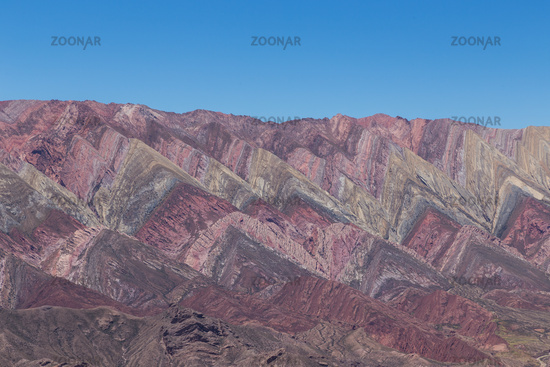Mountain of fourteen colors, Quebrada de Humahuaca