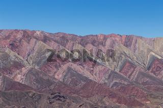 Mountain of fourteen colors, Quebrada de Humahuaca
