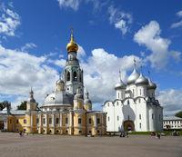 Main square of Vologda city